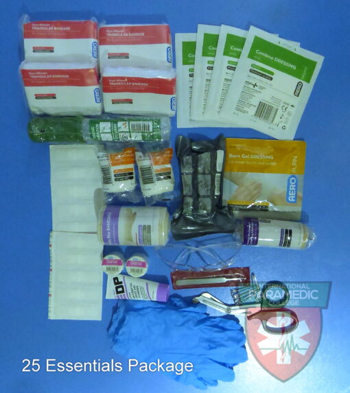 25 Essential First Aid Kit stocks
